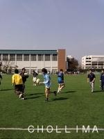 試合前のグリット練習