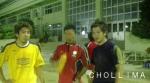 左からキン・キョンフン、コン・ジョンス、チョン・テド