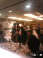 FL 辺泰秀選手結婚式